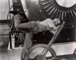 Chaplin in Tempi Moderni