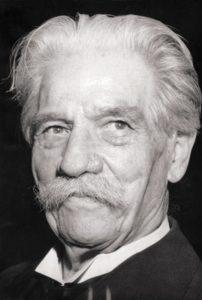 Albert Schweitzer nel 1955