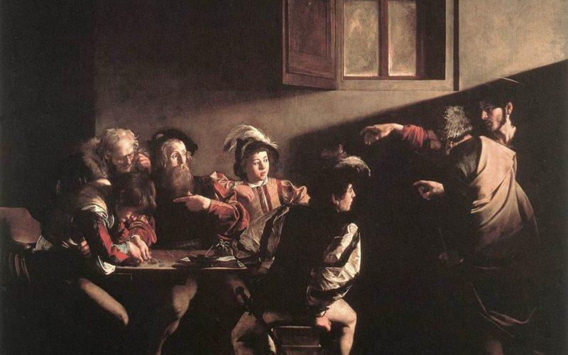 Caravaggio Chiamata Matteo