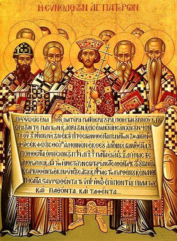 Icona Concilio di Nicea