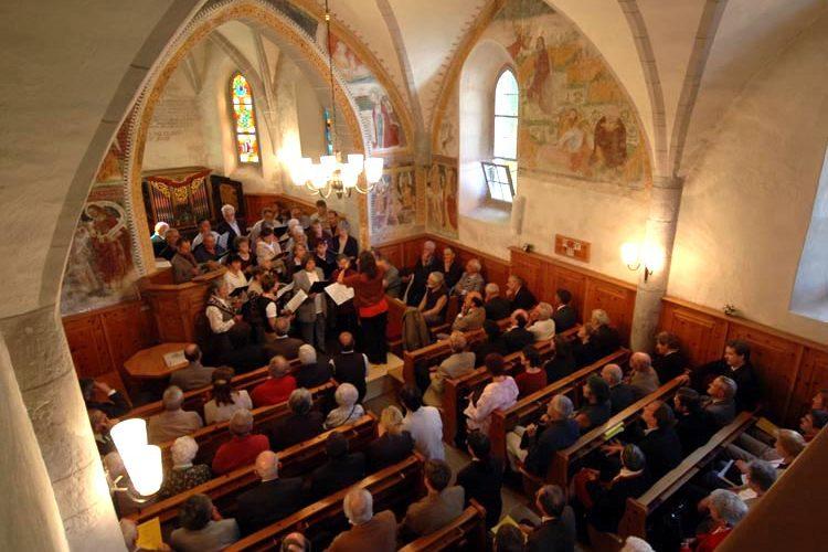 Interno chiesa Sinodo