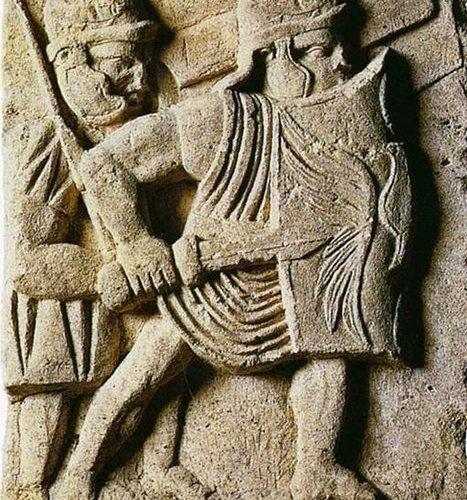 Bassorilievo con legionari