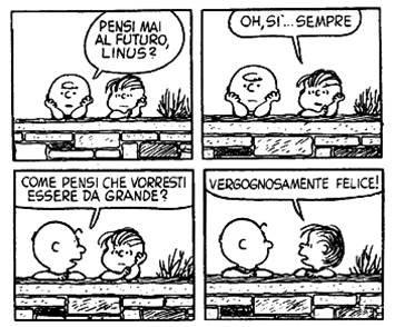 Vignetta dei Peanuts