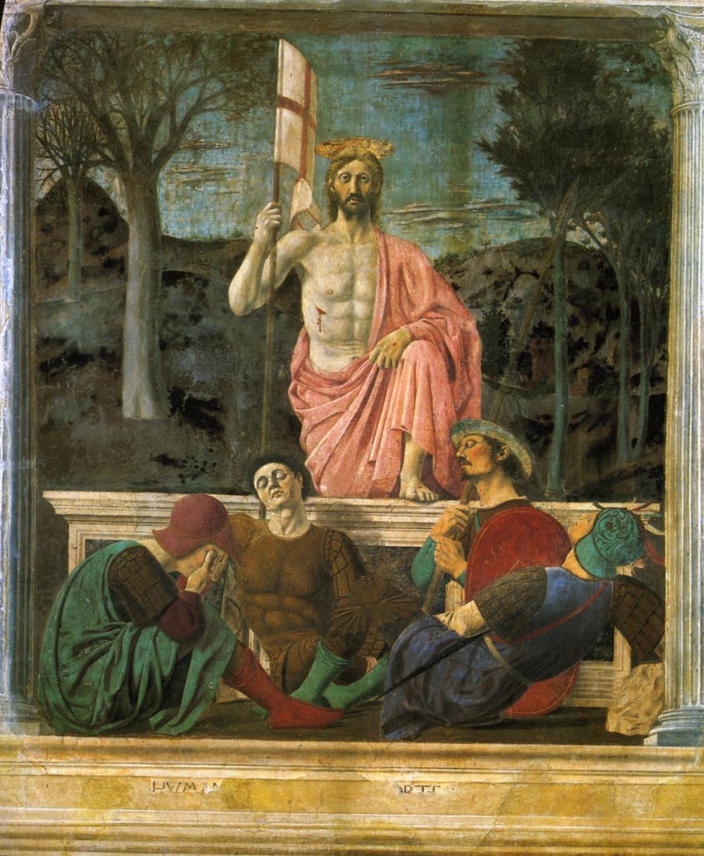 Resurrezione di Piero della Francesca