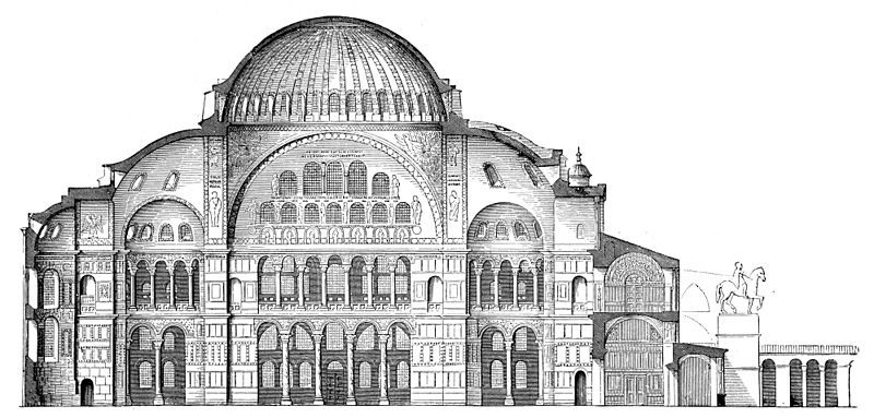 Santa Sofia a Costantinopoli