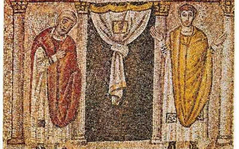 il-fariseo-e-il-publicano-sant-apollinare-nuovo