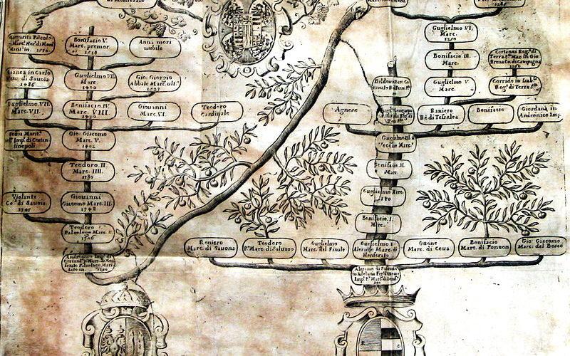 Albero Genealogico Marchesi Monferrato