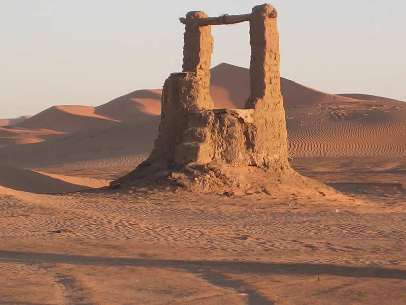 Pozzo nel deserto