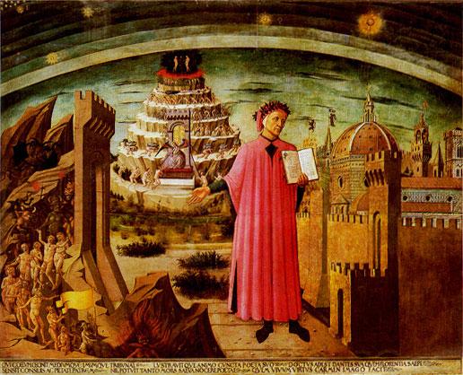 Dante e la Commedia - Michelino