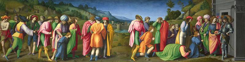 Giuseppe perdona i fratelli