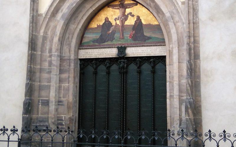 Portale di Wittenberg dove furono affisse le 95 tesi