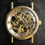 Orologio con meccanismo a vista