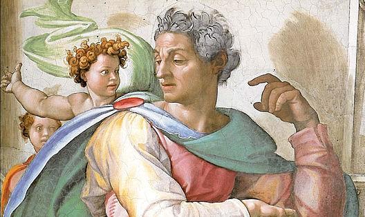 Isaia Michelangelo Cappella Sistina particolare
