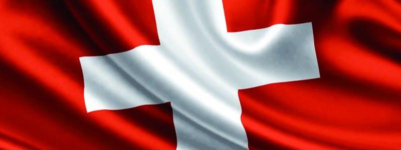 Bandiera Svizzera un particolare