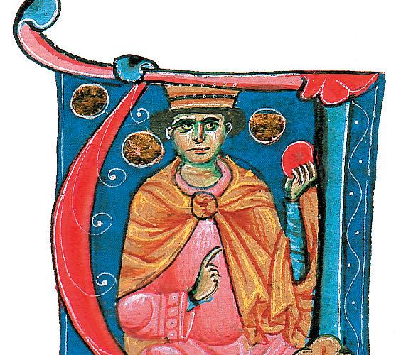 Capolettera Bibbia miniata del Qoelet